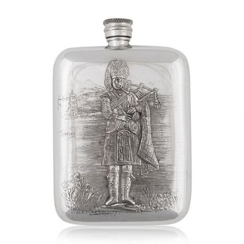 6oz Luxury Piper Hip Flask